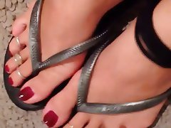 Amateur, Foot Fetish, MILF, POV