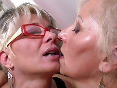 Granny, Lesbian, Mature, MILF