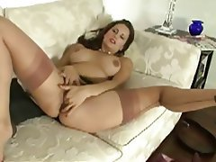 British, Masturbation, MILF, POV