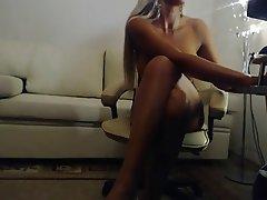 Amateur, Big Boobs, Blonde, Webcam