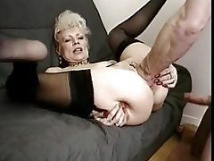 Granny, MILF, Stockings