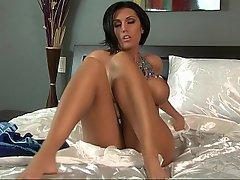 Babe, Big Tits, Brunette, Masturbation