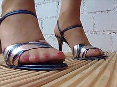 Foot Fetish, MILF, Close Up, POV
