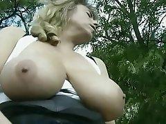 Blonde, Big Boobs, Hardcore, Stockings