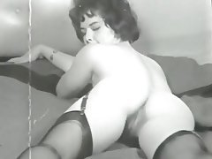 Hairy, MILF, Stockings, Vintage