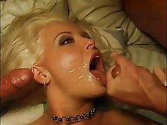 Blowjob, Facial, Group Sex, Threesome