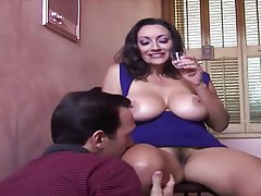 Big Boobs, Big Butts, Blowjob, Brunette