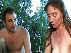 Group Sex, Mature, MILF, Outdoor
