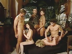 Cumshot, German, Group Sex, Hairy