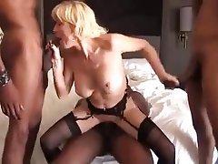 Nurse handjob black cock