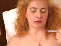 Mature, Italian, Masturbation, MILF