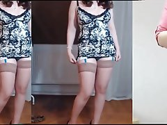 Brunette, Mature, MILF, Stockings